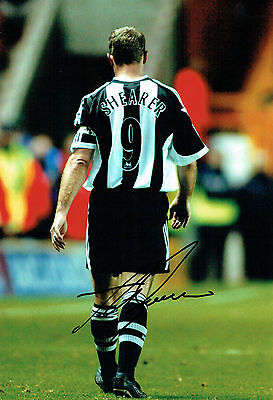 Alan SHEARER Signed Autograph 12x8 Photo AFTAL COA Newcastle United Magpies NUFC