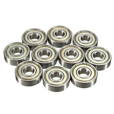 Popular 5/10PCs 608zz Deep Groove Ball Bearing Carbon Steel For Skateboard ESUS