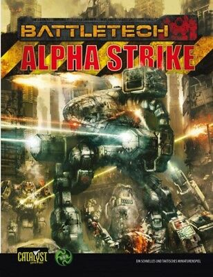 BattleTech Alpha Strike (Deutsch) Battle Tech Mech US40101 Catalyst Game Lab NEU