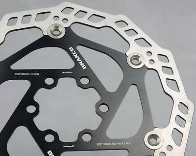Floating Disc Brake Rotor Japan Stainless Steel Black 160Mm 6Inch New Old Stock