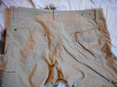 KUHL lightweight desert hot weather TROUSERS PANTS mountain JEANS 36  30 sf psd