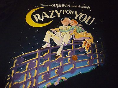 Crazy For You Vintage Shirt ( Used Size L ) Vintage Condition!!!