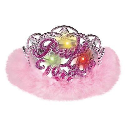 Hen Party - Light Up Bride Tiara Girls Night Out Bachelorette Fancy Dress