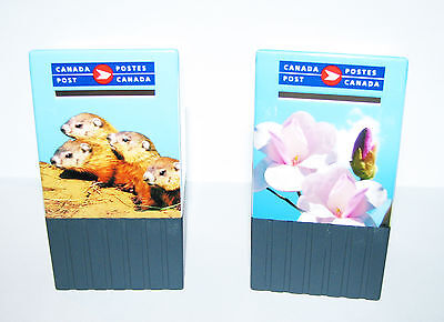 Unique Canada Post Collectible - TWO Mailboxes - Special Wildlife Editions