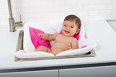 Pink Baby Blooming Bath Lotus Over Sink Super Soft Baby Bath Gift Present Bnwt