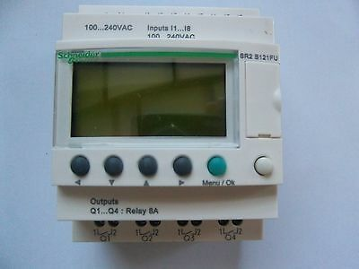 Schneider Zelio Plc.  Sr2B121Fu. Smart Relay With Clock. New In Box. Uk Seller.