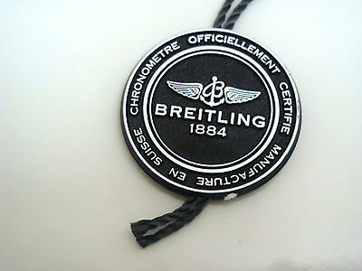 Breitling 1884 Swing Hang Tag ~ New