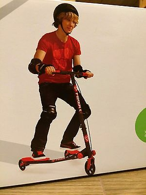 Yvolution Y FLIKER A3 AIR - Red & Black - Brand New In Box