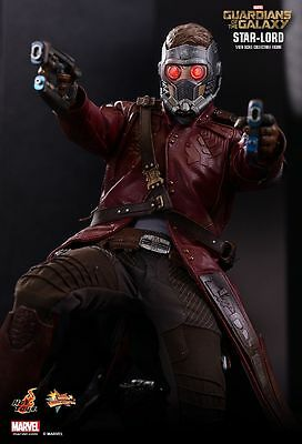 Hot Toys 1/6 Guardians Of The Galaxy Mms255 Exclusive Star-Lord Figure
