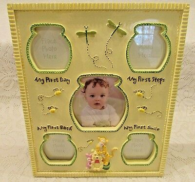 Winnie The Pooh Photo Frame Baby's First Picture
