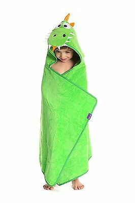 TheCroco Dinosaur Hooded Towel for Kids, Toddlers and Babies - Premium Quality