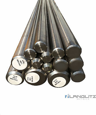Round Rod Stainless Steel Bar Rods V2A Round Profile Rust-Free
