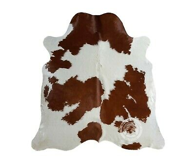 New COWHIDE RUG BRINDLE TRICOLOR 6'x6' Cow Skin Rug Leather Cow Hide Carpet