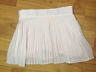 Janie and jack Girls Sz. 6-12 Months Pink Fan Fold Skirt