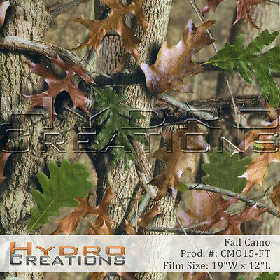 Hydrographic Film For Hydro Dipping Water Transfer Film Fall Camo - Per Foot