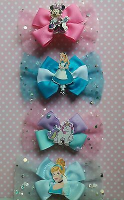 Dog Hair Bows - Dog Hair Accessories - Disney Pet Hairbows - Dog Tutu Skirt