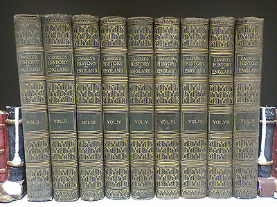 Cassell's History Of England - 9 Books Collection! (ID:46678)