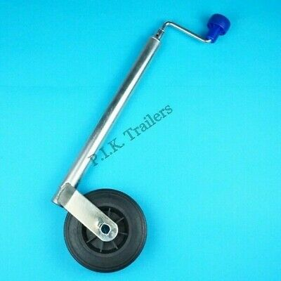 34mm dia. tube Standard Duty Jockey Wheel for Leisure & Boat Trailer #225