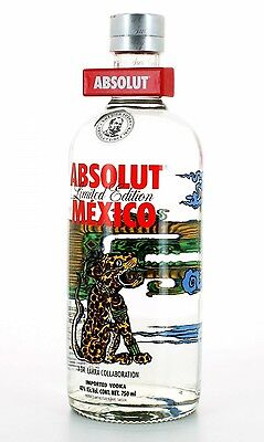 Absolut Vodka Mexico limited edition empty
