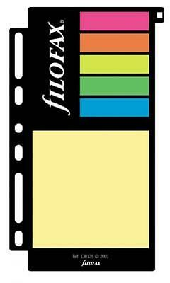 Filofax Accessories Assorted Sticky Notes Pocket Size FF 210136