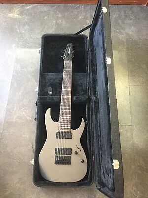 Ibanez RG8004 8 String Electric Space Gray Guitar W/ Hard Case