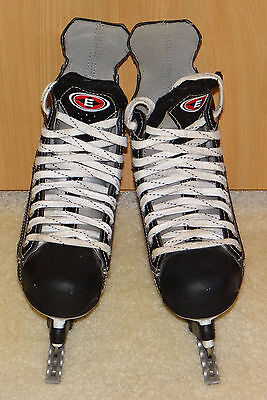 EASTON S1 Stealth Ice Skates Hockey Style size  UK  inc bauer style blade guards