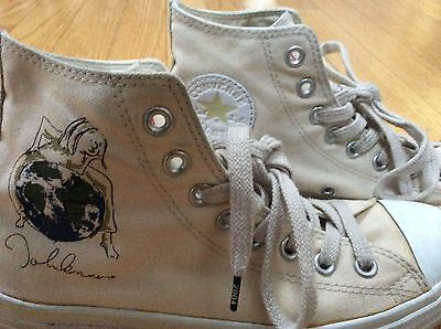 Converse John Lennon All Star Peace Limited Collectors Edition Hi Top Sneakers