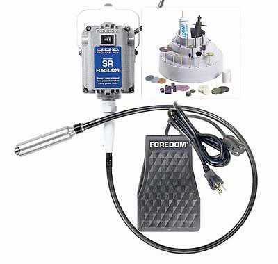 Foredom®'s Jeweler's Kit w/ 1/6 HP and 115V Flexible Shaft Machine Accessories