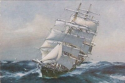 """C38: Sailing Ship """" Thermoplae """" - J SPURLING - BLUE PETER PUBLICATIONS"""