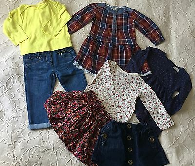Next girls clothes bundle 12-18 months