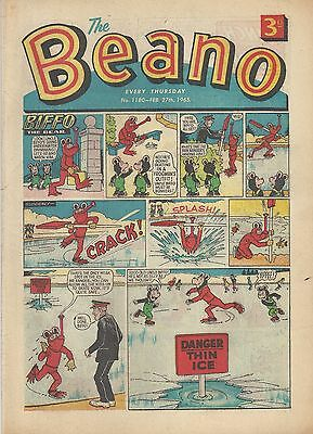 Beano Comic #1180 February 27th 1965 Very Good Condition Dandy Vintage