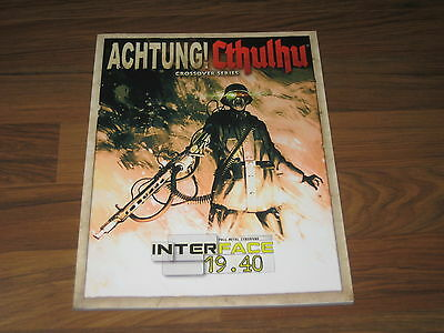 Achtung! Cthulhu Interface 19.40 Modiphius Entertainment New Neu 2013