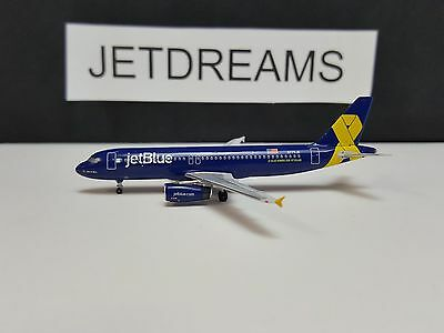 1/400 Jetblue Airbus A320-200 Vets In Blue Honor Colors  N775Jb Aeroclassics
