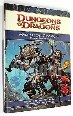 DUNGEONS & DRAGONS - MANUALE DEL GIOCATORE 4.0 NUOVO - Wizards of the Coast