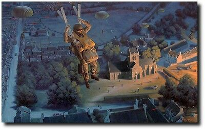 Drop Zone: St. Mere Eglise (Normandy Edition) by Larry Selman - Paratrooper