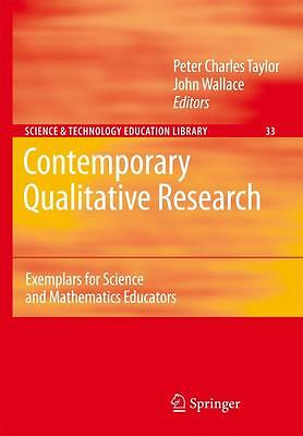 Contemporary Qualitative Research Peter Charles Taylor