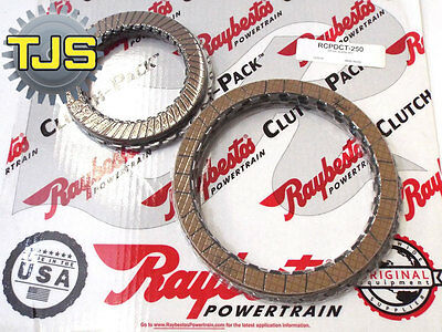 .NEW for VW DSG 02E Clutches O2E DQ250 Friction Clutch & Steels Pack heavy duty