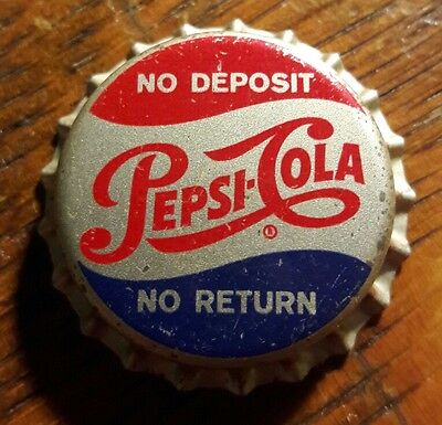 PEPSI COLA soda bottle cap unused cork pop