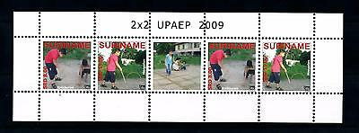 [SUV1628] Surinam Suriname 2009 UPAEP Children game Miniature Sheet with tab MNH