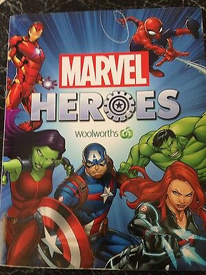 Woolworths MARVEL HERO DISKS Woolworths complete set of #42 in collectors case