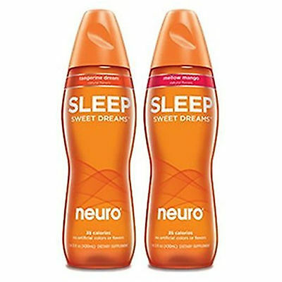 Neuro Sweet Dreams Variety Pack - Mellow Mango and Tangerine Dream - 12 Pack ...