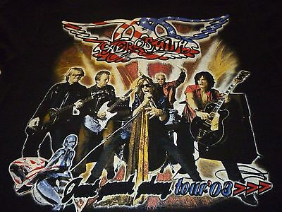 Aerosmith / Kiss 2003 Tour Shirt ( Used Size L ) Very Good Condition!!!