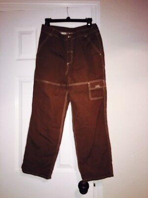 Hanna Andersson FLANNEL LINED Brown  Pants - 160