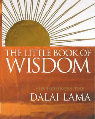 NEW The Little Book Of Wisdom By Dalai Lama Paperback Free Shipping