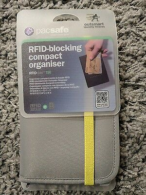 Pacsafe RFID blocking travel wallet