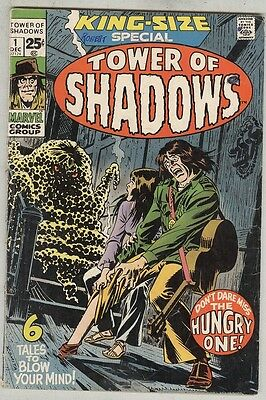 Tower of Shadows King-Size Special #1 December 1971 VG Neal Adams 7 PGS