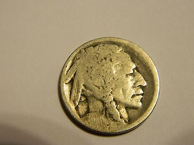 1916 P Buffalo Nickel Acid Recovered Date --INV155
