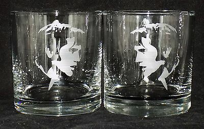 "New Etched ""ELVIS PRESLEY"" Whiskey Glass(es) - Choose 1 or 2 - Free Gift Box"