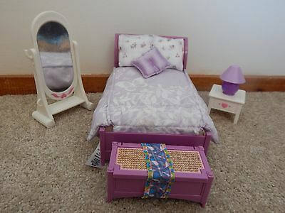 Fishe Price Loving Family Dollhouse Furniture Parents' Bedroom