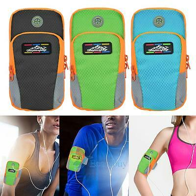 Sports Running Jogging Exercise Gym Armband Arm Band Holder Bag For Cell Phone